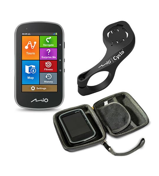 Fietsnavigatiepakket Mio Cyclo Discovery Plus