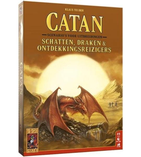 bordspel Catan: Schatten, Draken & Ontdekkingsreizigers