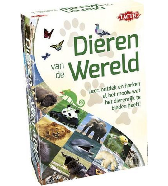 kaartspel Dieren van de Wereld (NL)