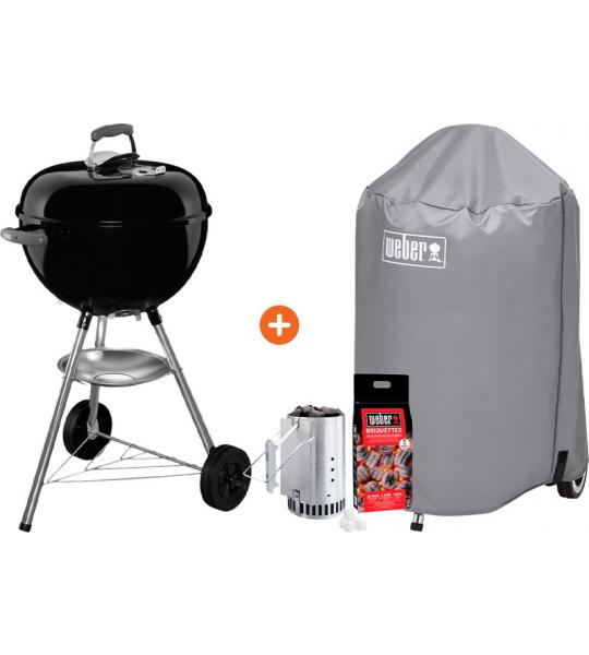 Weber Barbecuepakket Bar-B-Kettle 47 cm