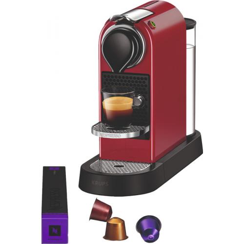 Krups Nespresso Citiz XN7415 Kersenrood